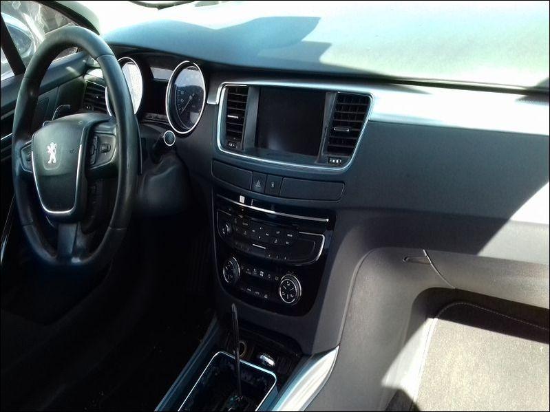 508 GT HDI accidentée