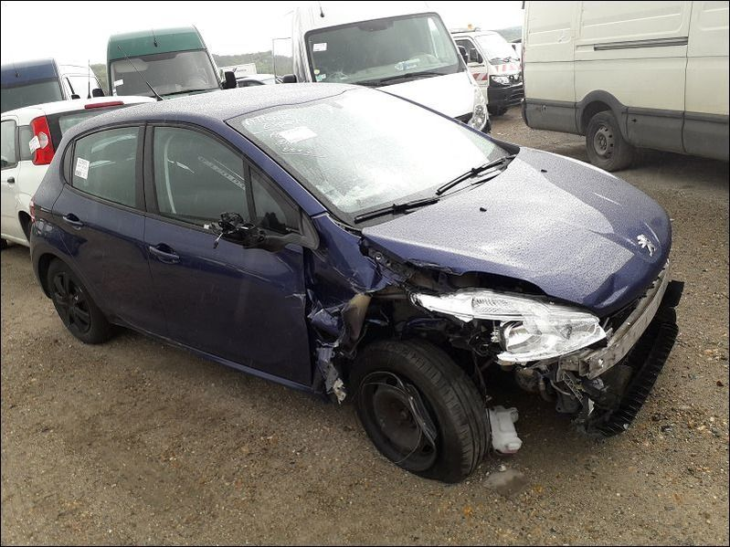 208 1.4 HDI ACTIVE accidentée