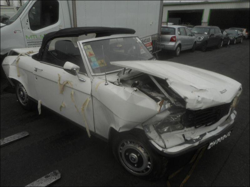 304 S CABRIOLET accidentée