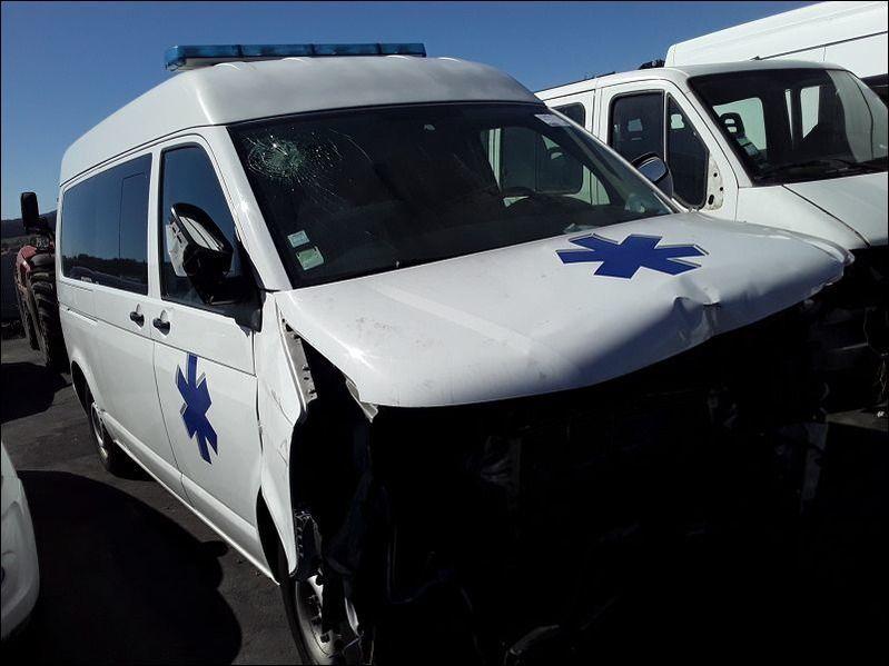 TRANSPORT Transporter Long Haut 2.0 16V TDI FAP - accidentée